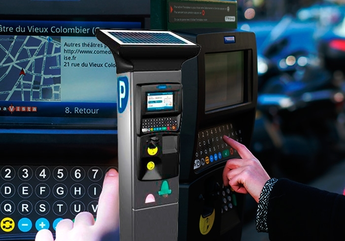 On-street parking payment machines